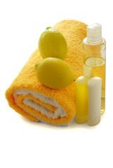Lemon for body odor naturally