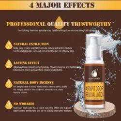 Armpit odour removal
