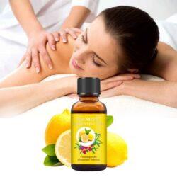 lemon essential oils for body odor