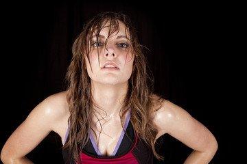 Prevent Sweaty Hair, Sweaty Hair Solution,