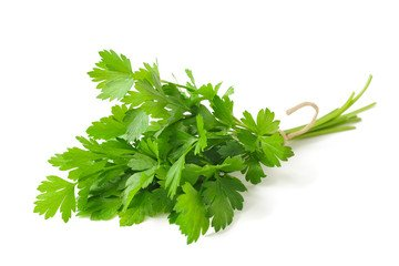 Parsley for improving body odor