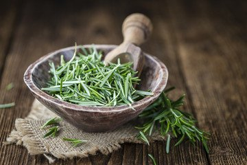 Rosemary for improving body odor